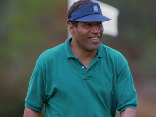 "<div class=""meta image-caption""><div class=""origin-logo origin-image ""><span></span></div><span class=""caption-text"">In Panama City Beach, Fla., Thursday, Oct. 19, 1995, O.J. Simpson smiles after sinking a putt from about 12 feet to bogey the 14th hole. Unlike the previous two days, Simpson played only in the morning, and not the afternoon, complaining of pain in his arthritic knees.  (AP Photo/Andrew Innerarity)</span></div>"