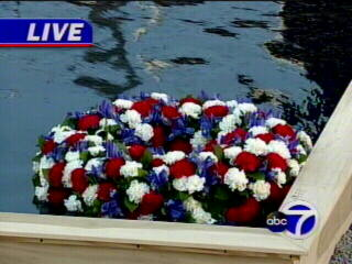 "<div class=""meta ""><span class=""caption-text "">A wreath floats in water at the World Trade Center site.</span></div>"