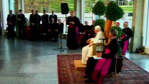 "<div class=""meta image-caption""><div class=""origin-logo origin-image ""><span></span></div><span class=""caption-text"">The pope hosted an interreligious gathering Thursday night.</span></div>"