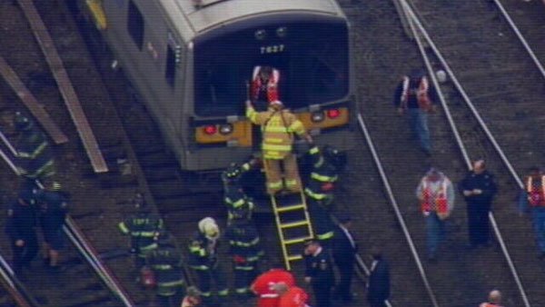 "<div class=""meta image-caption""><div class=""origin-logo origin-image ""><span></span></div><span class=""caption-text"">About two dozen people are being evaluated for minor injuries following a Long Island Rail Road train derailment at Jamaica Station in Queens.  </span></div>"