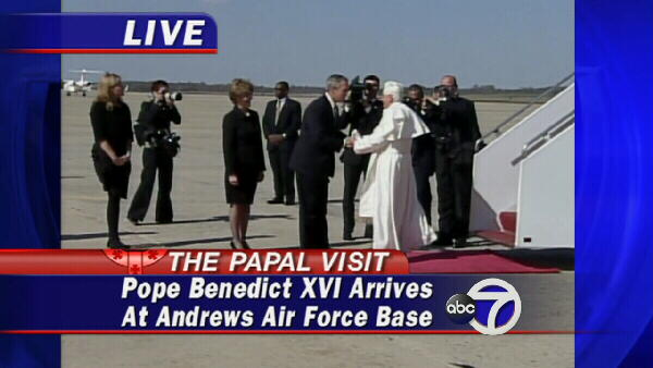 "<div class=""meta image-caption""><div class=""origin-logo origin-image ""><span></span></div><span class=""caption-text"">President Bush greets Pope Benedict XVI.</span></div>"
