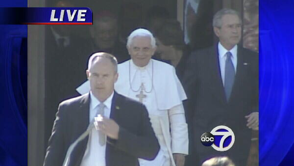 President Bush and Pope Benedict XVI.