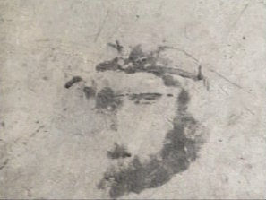 "<div class=""meta image-caption""><div class=""origin-logo origin-image ""><span></span></div><span class=""caption-text"">8.14.2007The smudge that some say looks like Jesus, while it was still in the garage in Forest, Virginia. It has fetched $1,500 in an ebay auction, and is up for sale again. Click Here for more on this story.</span></div>"