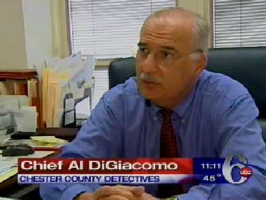 "<div class=""meta image-caption""><div class=""origin-logo origin-image ""><span></span></div><span class=""caption-text"">Chief Al DiGiacomo/CHESTER COUNTY DETECTIVES:     ""These particular type of investigations are very, very difficult, and we understand that. And that's why we've never put this thing to bed.""  </span></div>"